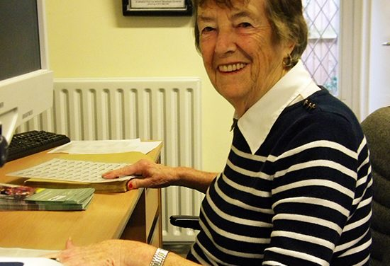 Pam Jeremy – 4Sight Vision Support Volunteer (2015)