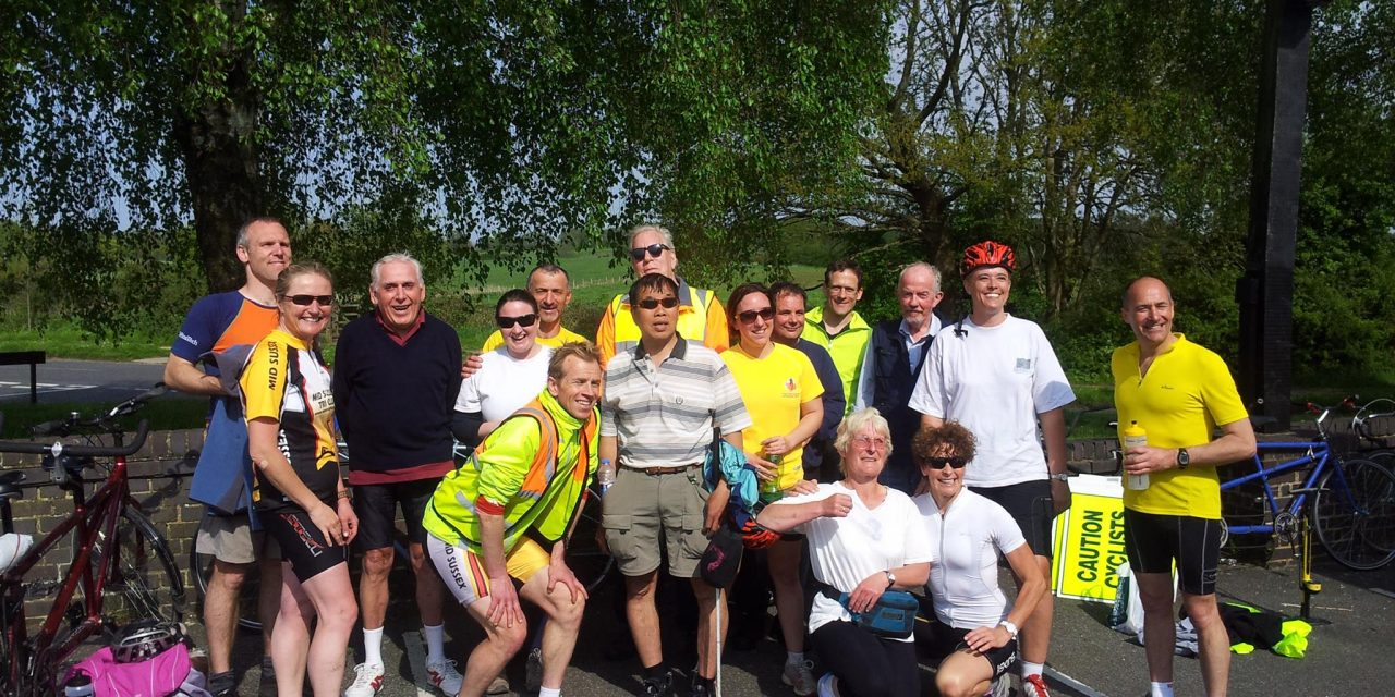 SPONSORED CYCLE RIDE 2016