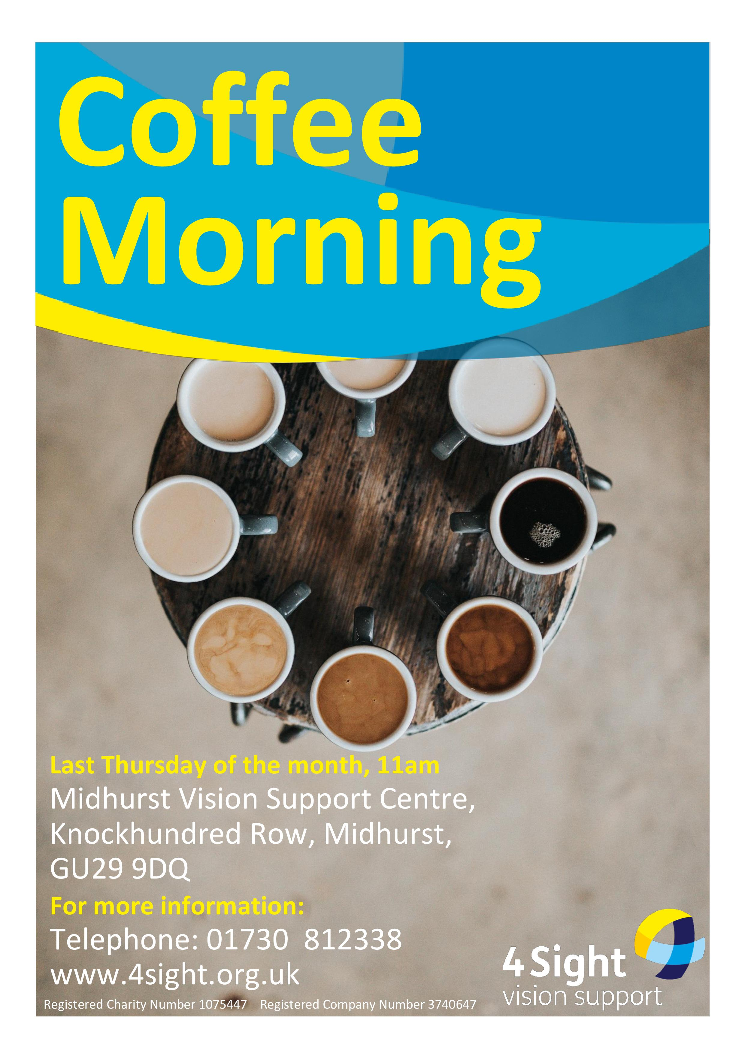 Coffee Morning - Midhurst