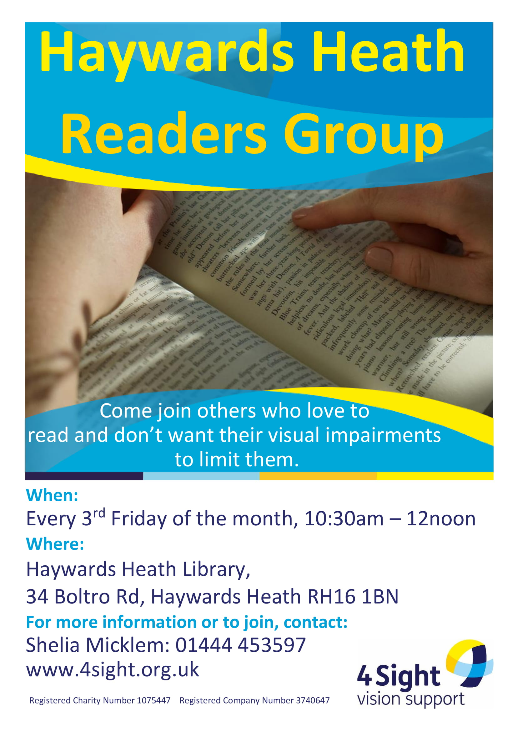 Haywards Heath VIP Readers Group-1
