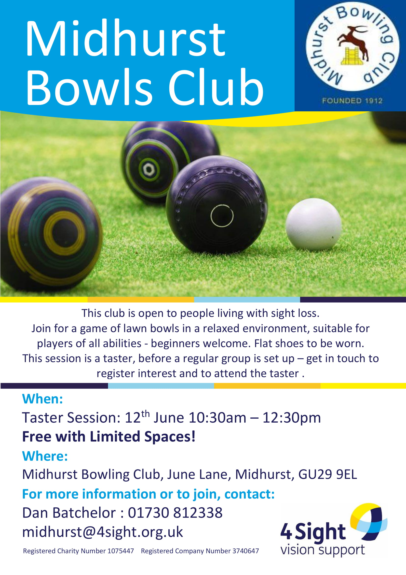 Midhurst Bowls Club - Taster Session-1