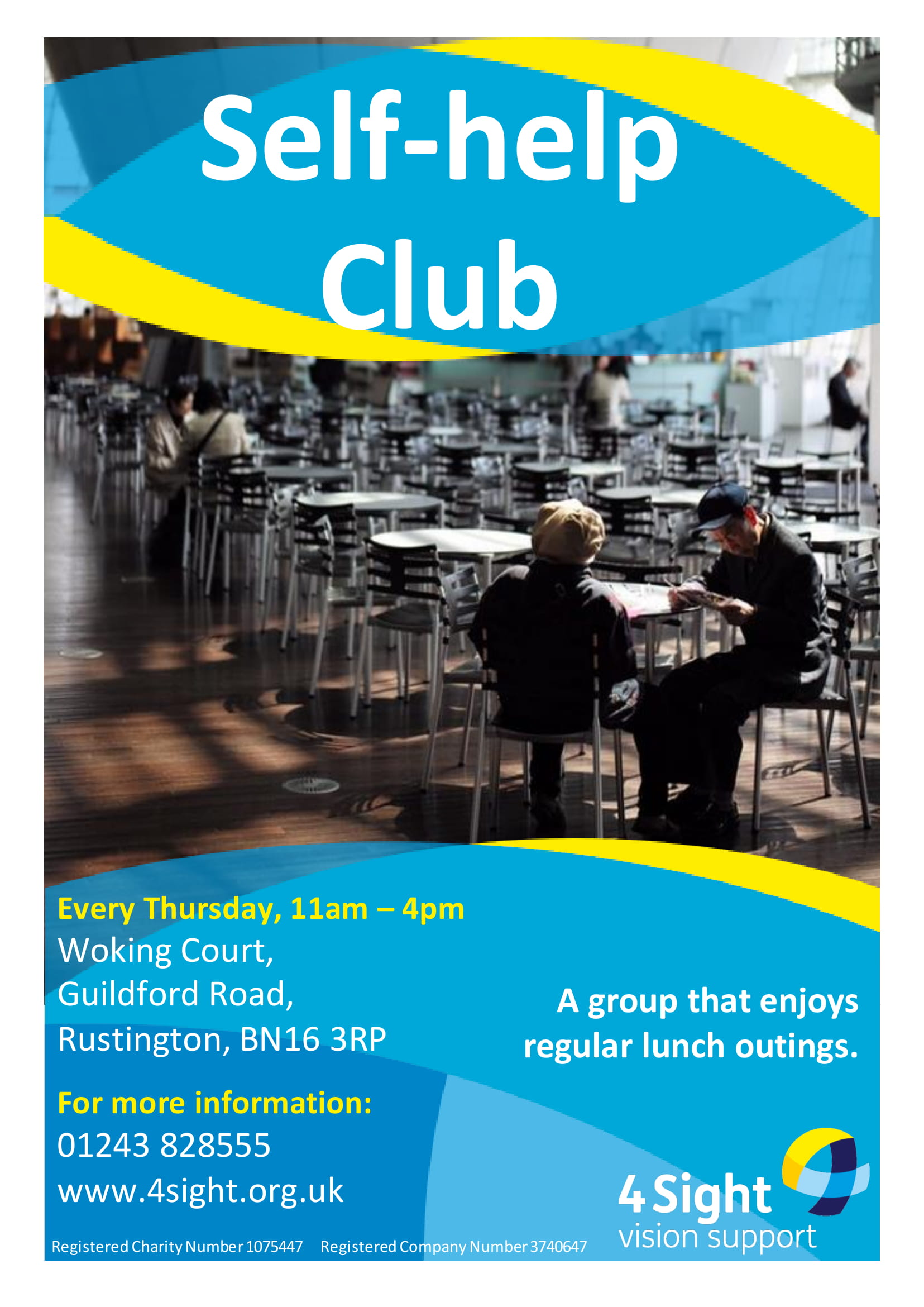 Self-help club - The Rustington & District-1