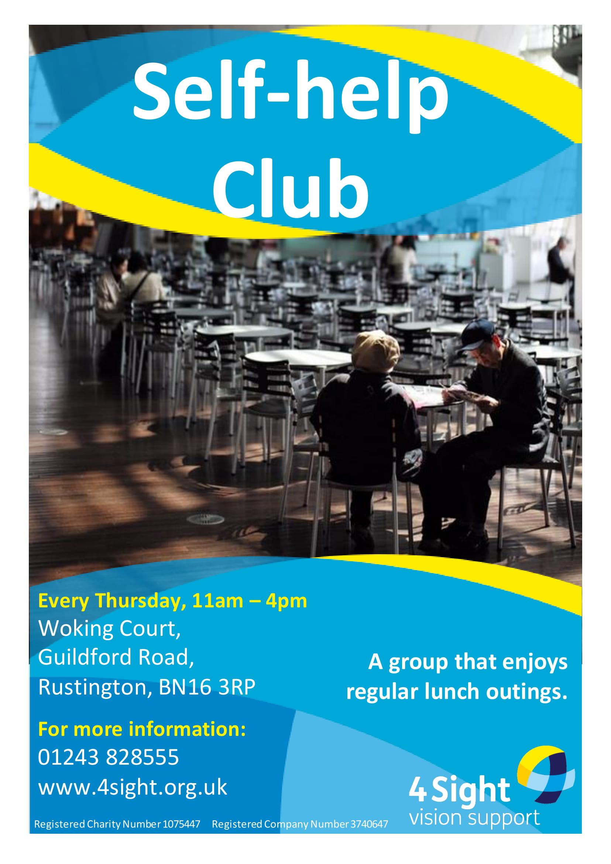 Self-help club - The Rustington & District-1