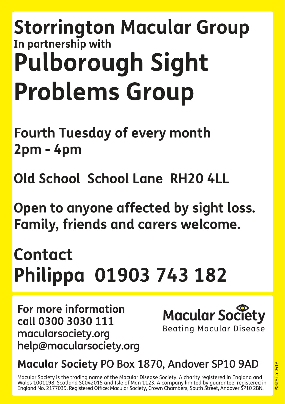 Storrington Macular Society-1