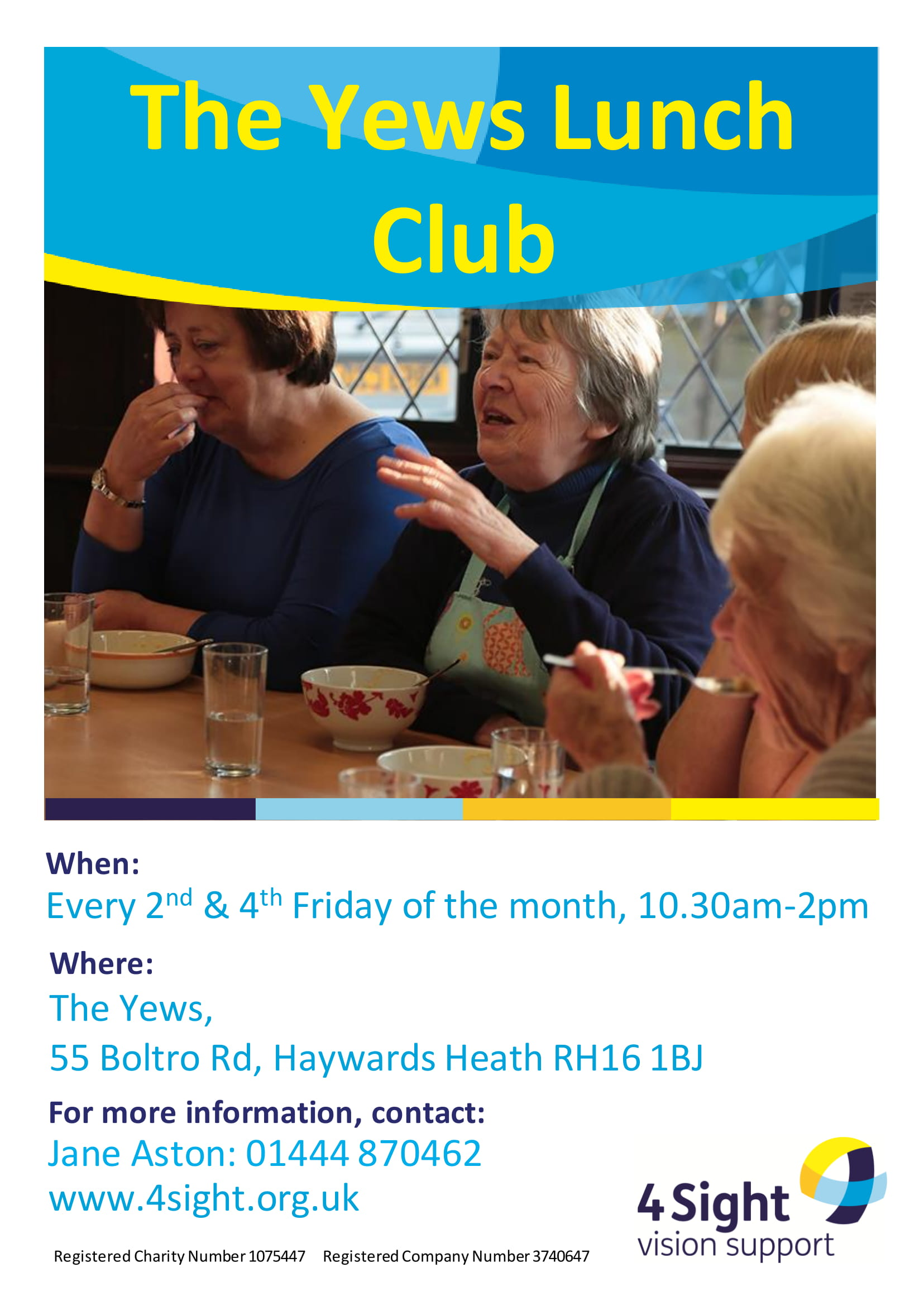 The Yews Lunch Club-1
