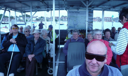 All aboard! Chichester Boat Trip