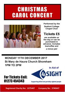 4Sight Vision Support Christmas Concert 2017