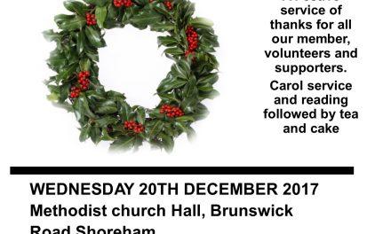Carol Service of Thanks