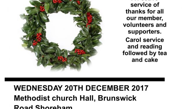 Carol Service of Thanks