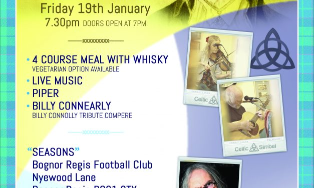 Celebrate Burns Night with 4Sight Vision Support