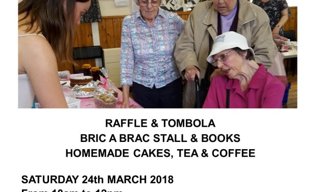 Shoreham Coffee Morning & Sale 24 March