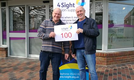 Sight loss Sponsored Swim to give back to local charity…