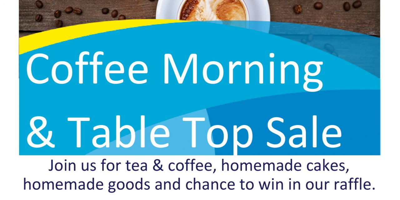 Shoreham Coffee Morning & Table Top Sale