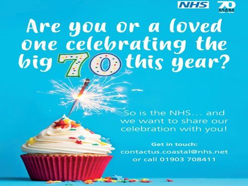 The NHS is 70 and need you!
