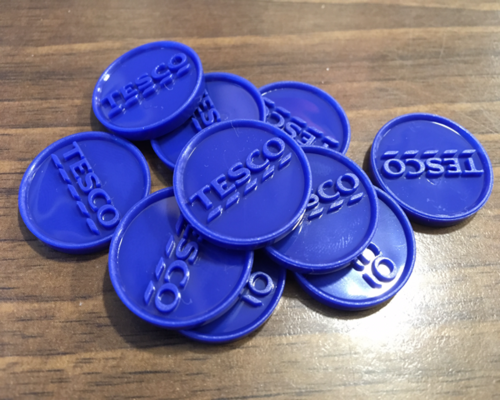 Image result for tesco tokens