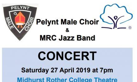 Pelynt Male Choir & MRC Jazz Band Concert