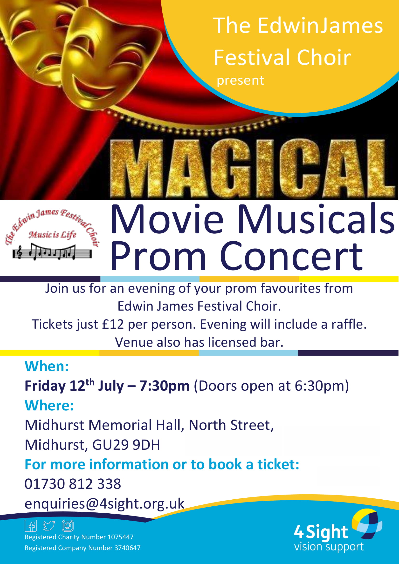 Magical Movie Musicals Prom Concert Poster