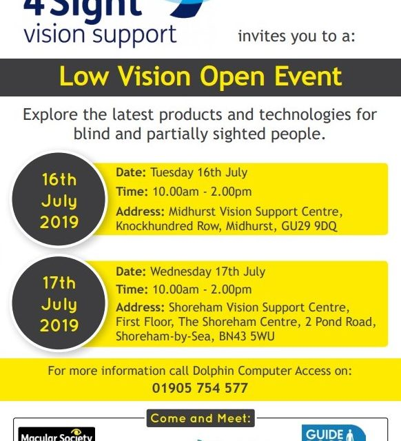 Low Vision Open Event