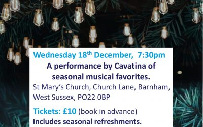 A Cappella Christmas Concert by Cavatina