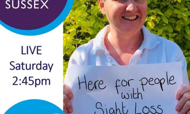 LIVE on BBC Radio Sussex this Saturday