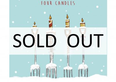 4 candles sold out