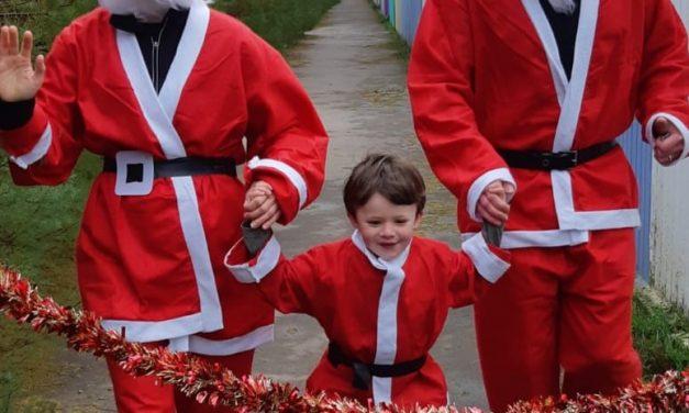 Chloe takes on the My Santa Run