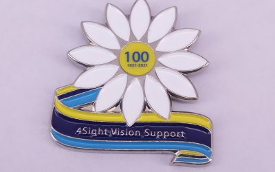 100th Anniversary Pin Badge